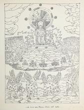 乔治•德•基里科 - 版画 - Ed ecco un trono stava nel cielo