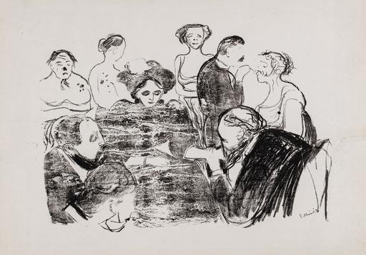 Edvard MUNCH - Print-Multiple - Women in the Hospital 1896