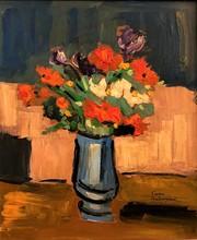 Pierre AMBROGIANI - Peinture - Bouquet printanier