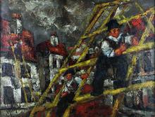 Henry Maurice D'ANTY - Pintura - Builders