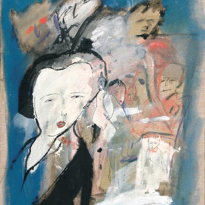 Zvi MILSHTEIN - Painting - Souvenir de tokyo