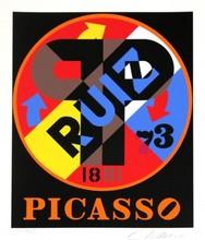 罗伯特•印第安纳 - 版画 - Picasso Ruiz