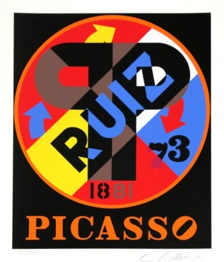 Robert INDIANA - Print-Multiple - Picasso Ruiz