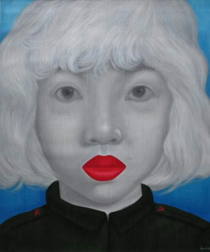 Jo CHANCHAI - Painting - Eastern Beauties XXI