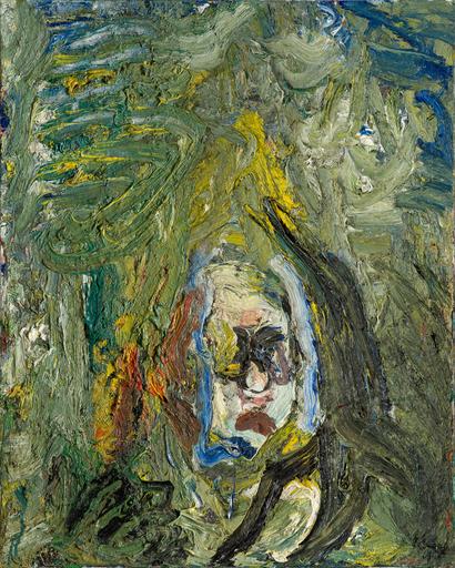 Eugène LEROY - Gemälde - Untitled