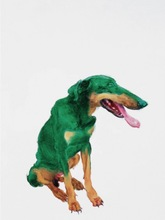 ZHOU Chunya - Print-Multiple - Green dog #4
