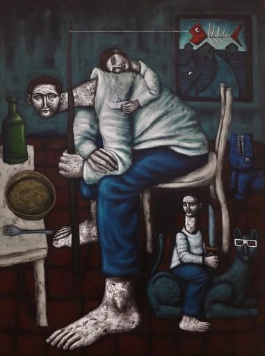 Nicolas MONJO - Pintura - Sans titre A005