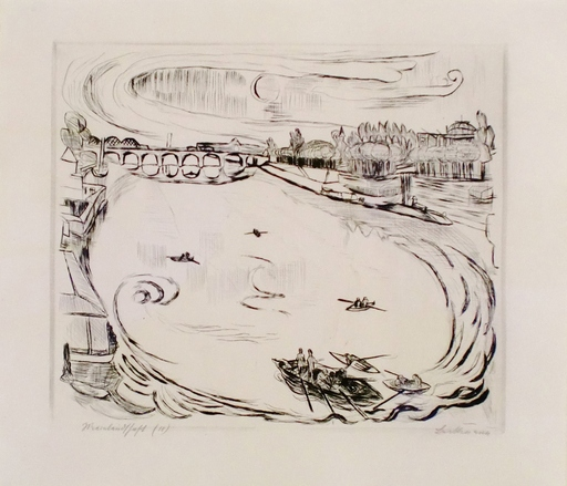 Max BECKMANN - Print-Multiple - Mainlandschaft