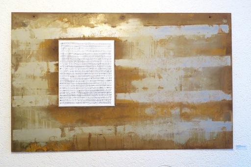 Anthony BANNWART - Pintura - TIME IN JAIL : 4'625 DAYS , 2010