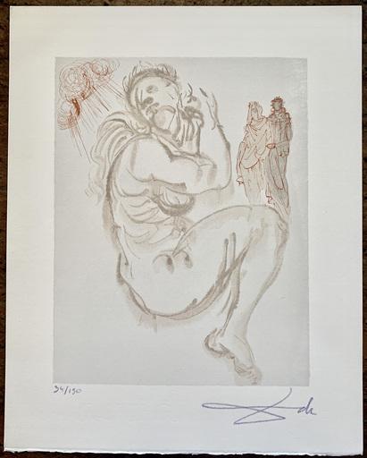 萨尔瓦多·达利 - 版画 - Le Songe de Dante