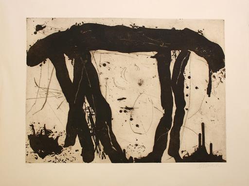Emil SCHUMACHER - Estampe-Multiple - 2/1989