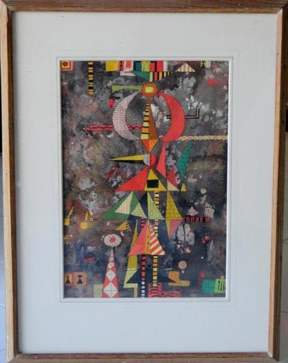 René PORTOCARRERO - Painting - Carnival
