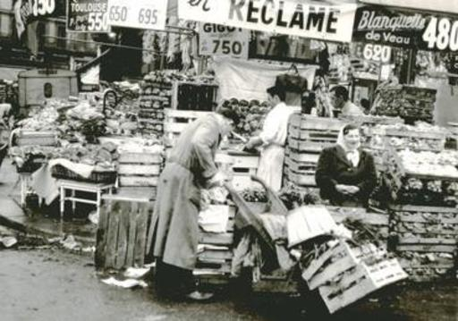 Jacques RITZ - Photo - ( on the market, Paris)