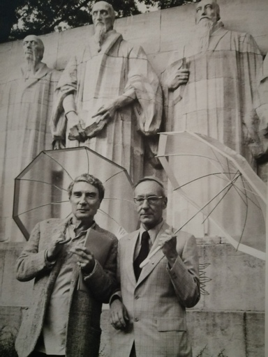 François LAGARDE - Fotografia - Brion Gysin et William Burroughs