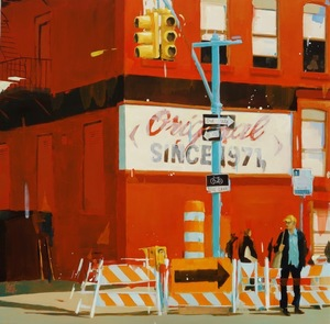 Jean Marie DROUET - Pintura - CrossRoad