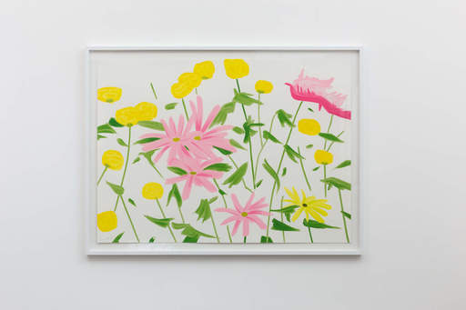 Alex KATZ - Grabado - Spring Flowers