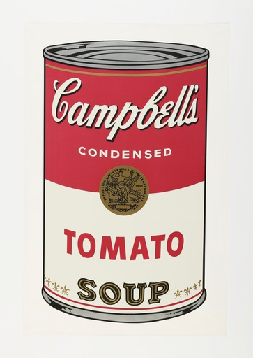Andy WARHOL - Estampe-Multiple - Campbell's Soup I, Tomato F&S II.46