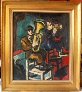 Arthur FILLON - Pintura - la fête à Neu-Neu