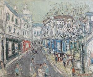 André COTTAVOZ - Painting - Place du Tertre