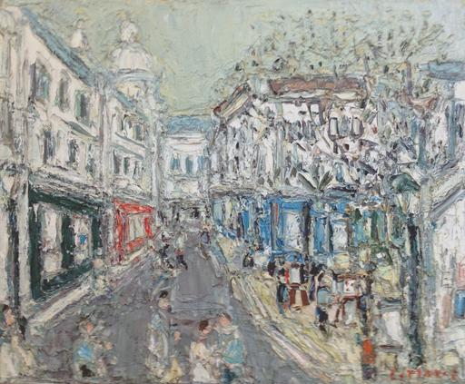 André COTTAVOZ - Pittura - Place du Tertre