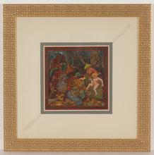"""Alfred WAAGNER - Disegno Acquarello - """"Anbetung"""", watercolor, 1910s"""