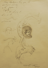 Leonora CARRINGTON - Drawing-Watercolor - Untitled