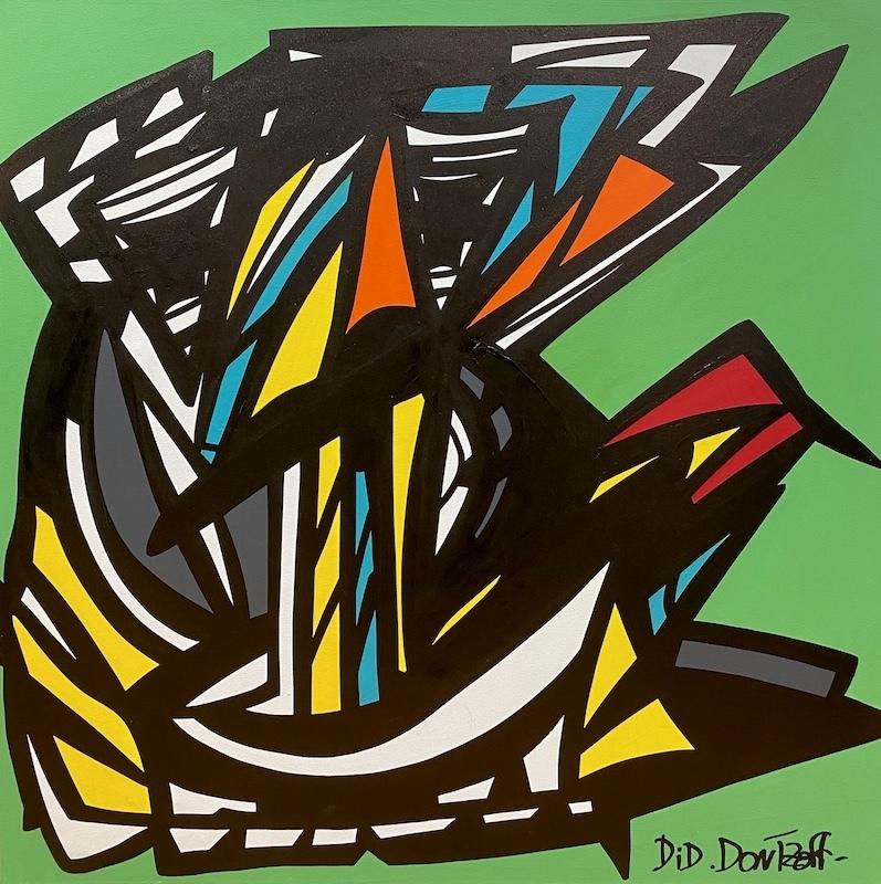 Did DONTZOFF - Painting - Sans titre