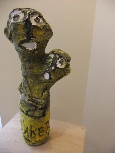 JABER - Escultura - FEMME AU BB