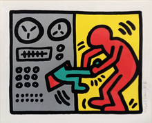 Keith HARING - Stampa Multiplo - POP SHOP III (1)