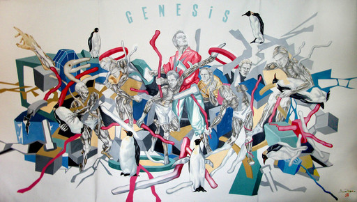 Iryna BEREZHKO & BONDERO - Pintura - Genesis (Cat N° 3556)
