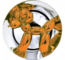 杰夫·昆斯 - 版画 - Jeff Koons - Balloon Dog (Orange)