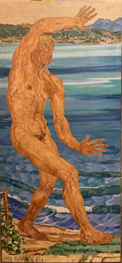 Edoardo PANSINI - Peinture - Nudo