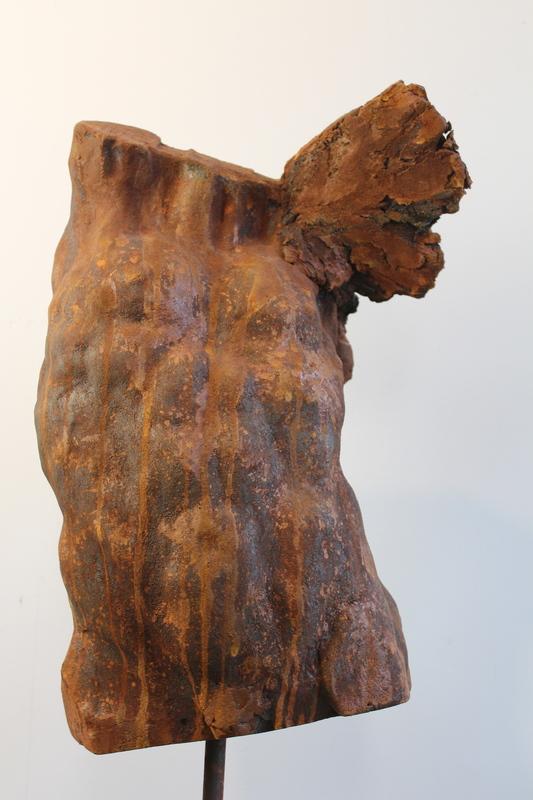 Pascal BORGHI - Sculpture-Volume - Ange blessé 3