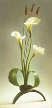 Albert BENAROYA - Peinture - Ikebana with Calla Lillies