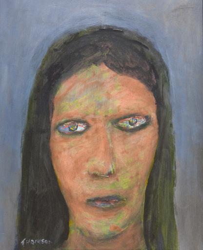 Douglas THOMSON - Painting - Visitation