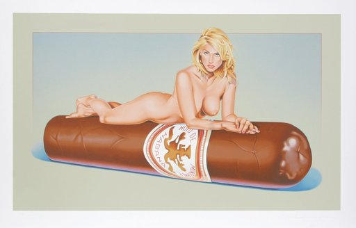 Mel RAMOS - Druckgrafik-Multiple - Have a Havana #7