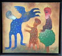 Manuel MENDIVE - Peinture - Untitled