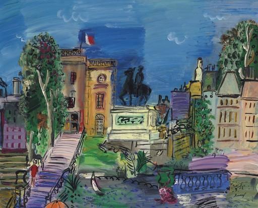 Carlos NADAL - Gemälde - La Clairière