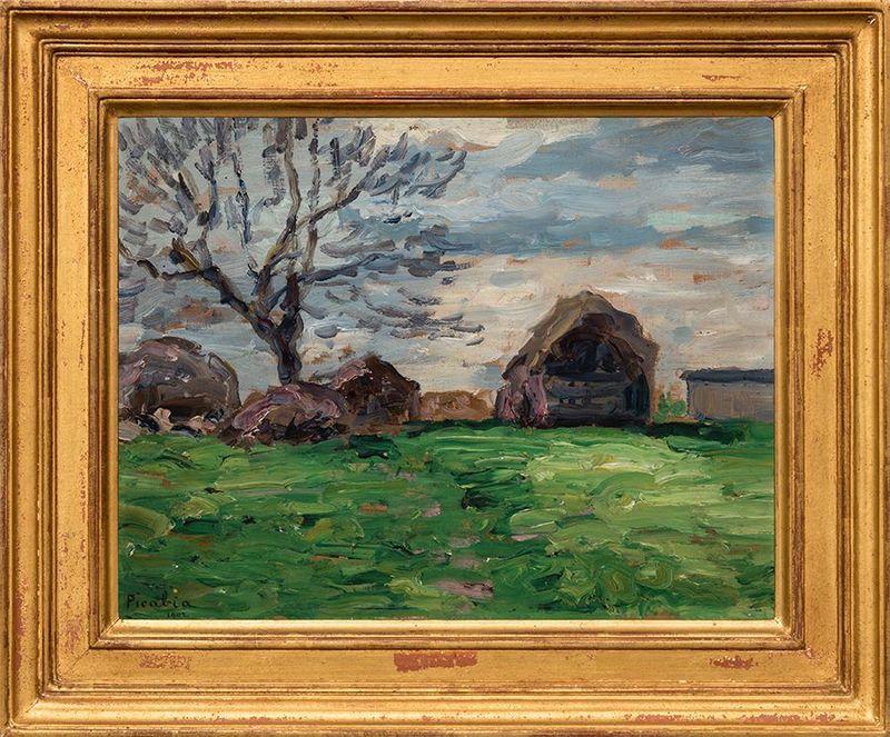 Francis PICABIA - Painting - Moret-sur-Loing