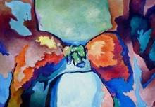 Claude THIEL DE NEUVILLE - Gemälde - Passion isotherms n°6
