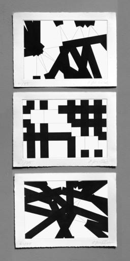 François MORELLET - Print-Multiple - π Strip-teasing