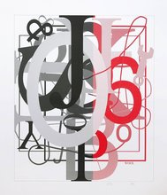 Christopher WOOL - Print-Multiple - Untitled I