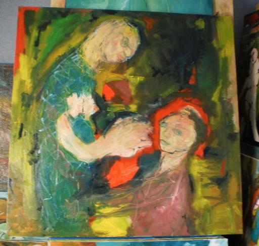 Bernard MOREL - Painting - MAITRESSE