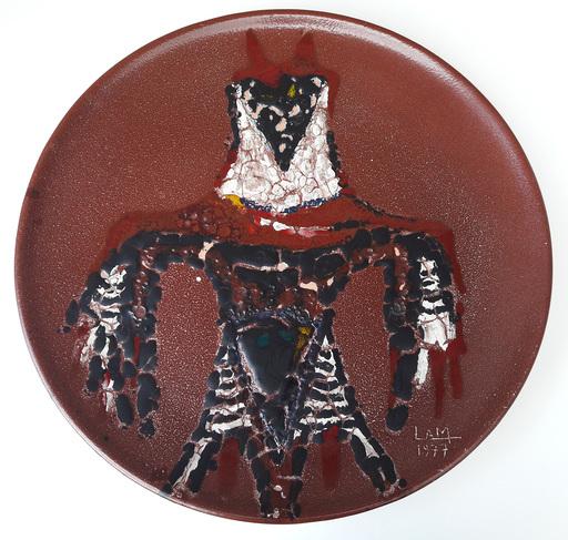Wifredo LAM - Escultura - Fire tongues