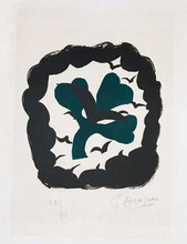 Georges BRAQUE - Estampe-Multiple - Lettera amorosa : métamorphose