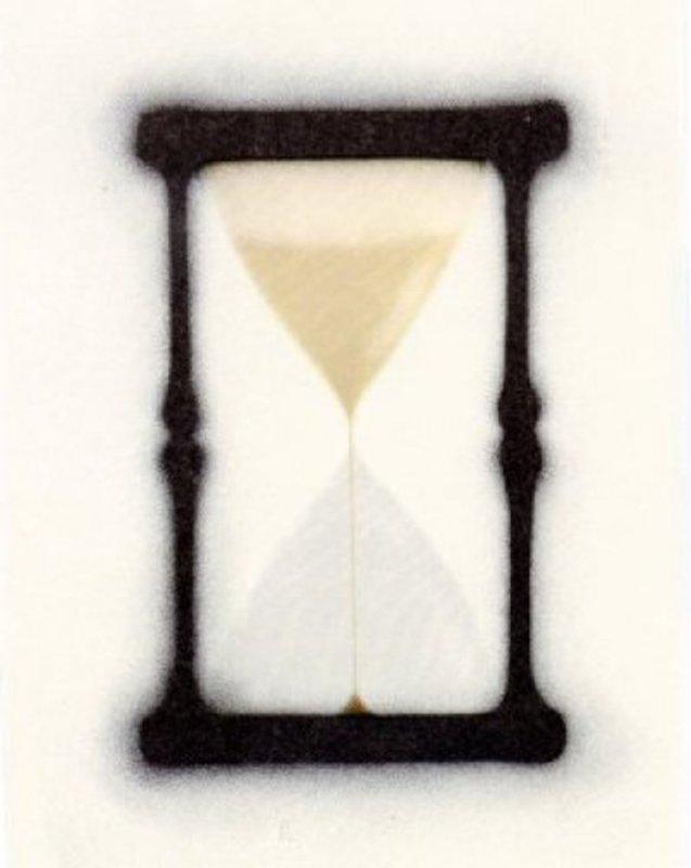 Ed RUSCHA - Print-Multiple - Reloj de arena
