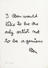 BEN (1935) - I, Ben, would like to be...