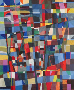 Jérémie IORDANOFF - Painting - Au dessus de Venise