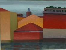 SALVO - Peinture - Venezia a Novembre
