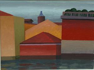 SALVO - Painting - Venezia a Novembre